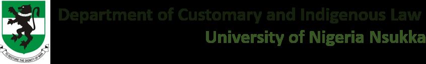 Customary & Indigenous Law
